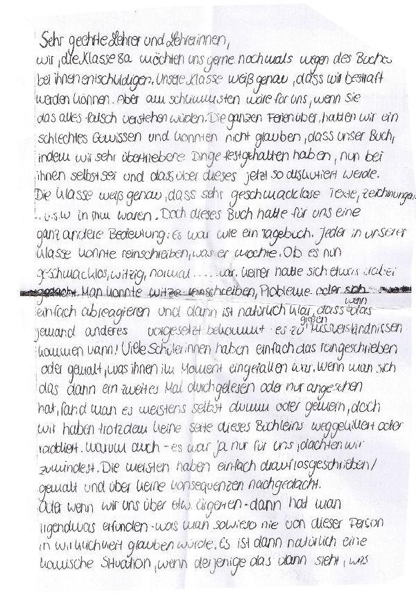 Brief An Die Lehrer